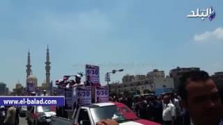 بالفيديو والصور ..  'فرقة كفر الشيخ للفنون الشعبية تشارك باحتفالات يونيه