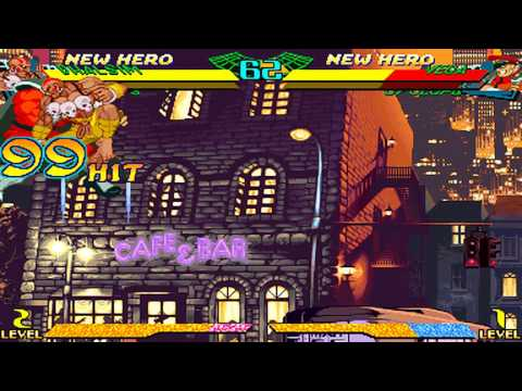 MARVEL SUPER HEROES VS. STREET FIGHTER Combo  Video Vol.2