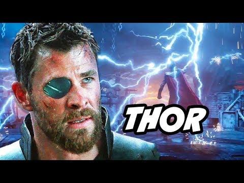 Avengers Infinity War Thor Scene and Stormbreaker Explained thumbnail