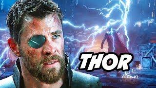 Avengers Infinity War Thor Scene and Stormbreaker Explained