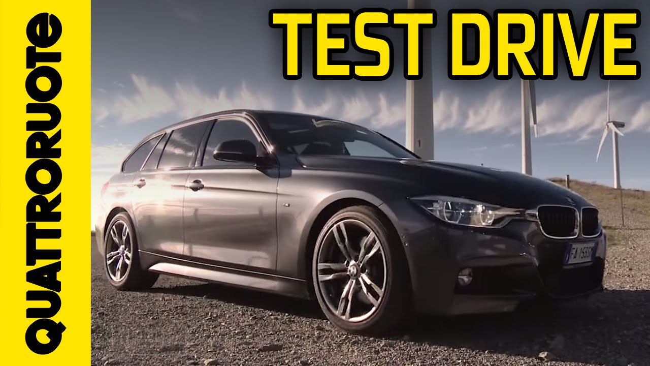 Bmw 320d Touring Msport 2015 Test Drive Youtube