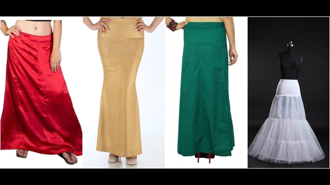 How to petticoat wear under saree new photo