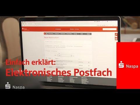 Alles in Ordnung von überALL – mit dem Elektronischen Postfach I Naspa