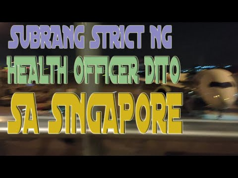 CONNECTING FLIGHT TO SINGAPORE IN PANDEMIC SEASON