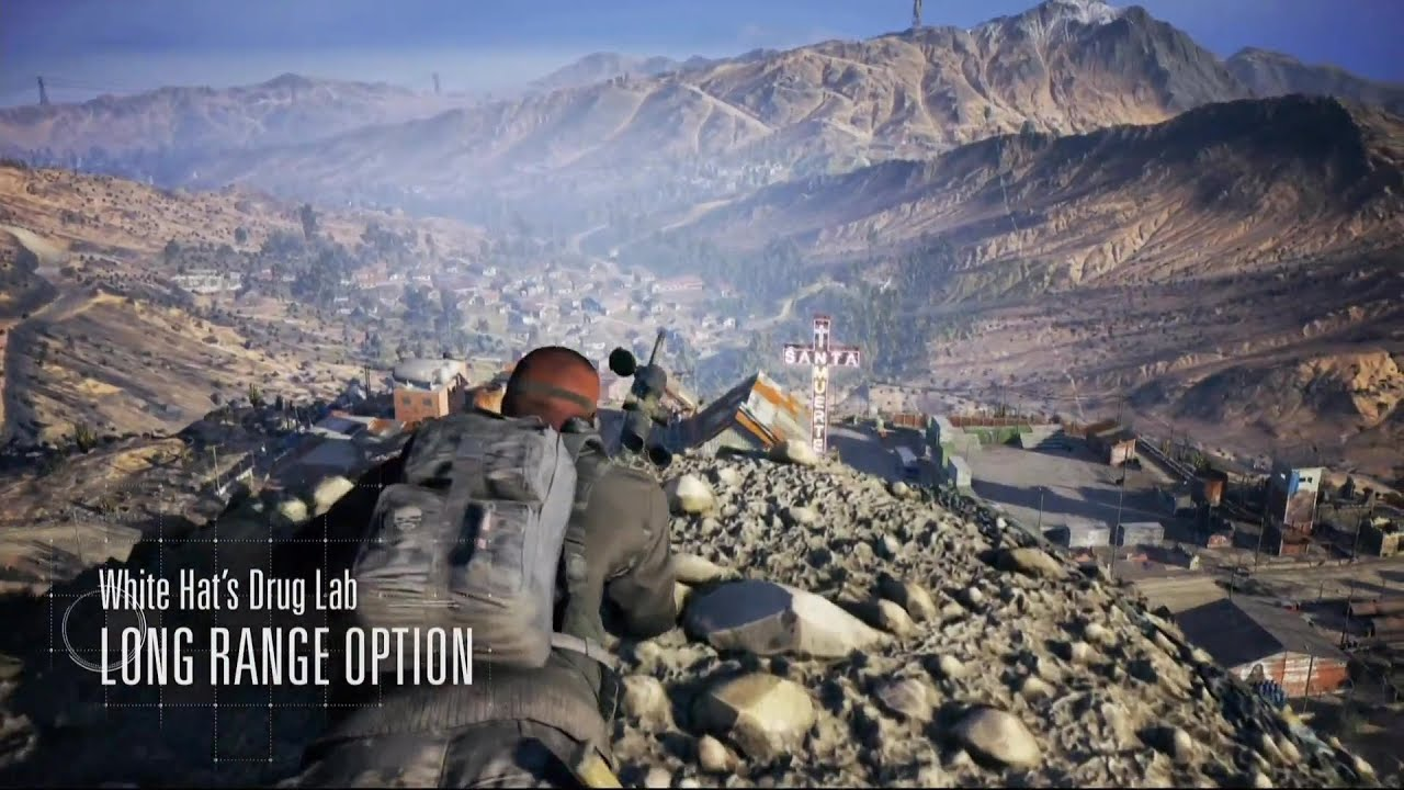 how to stop the cobvoy in ghost recon wildlands
