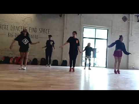 Dance hall class at big dance centre (selected groups)