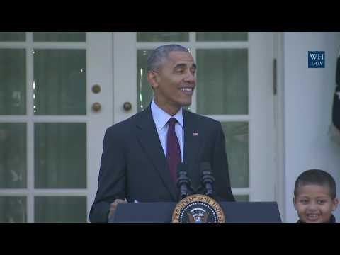 President Obama Pardons the National Thanksgiving