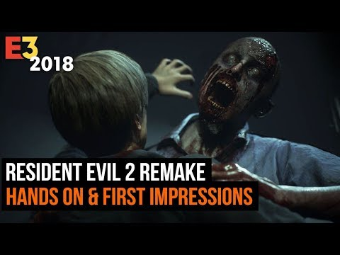 Resident Evil 2 Remake Hands On & First Impressions