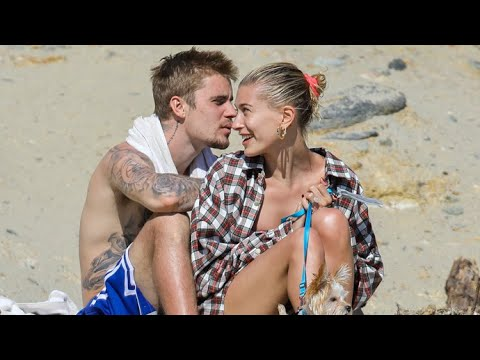 Justin Bieber And Hailey Baldwin Looking So In Love While Hitting The Beach - EXCLUSIVE