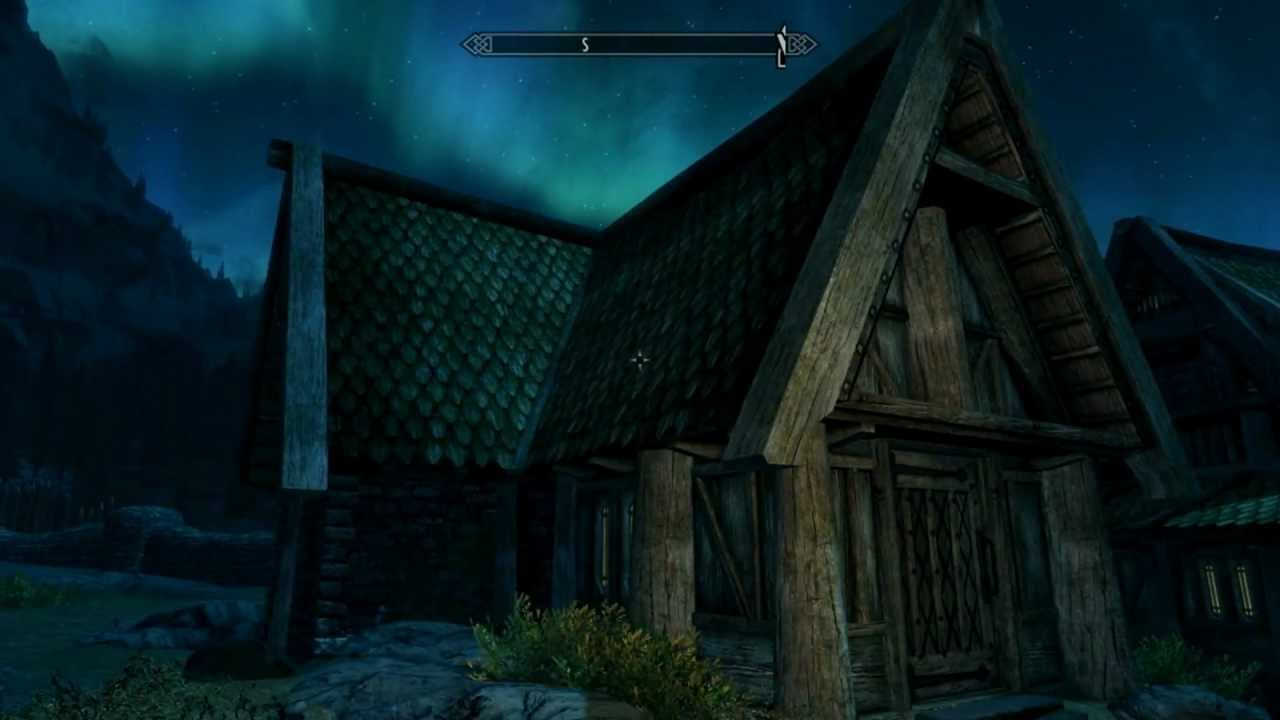 Can you decorate your house in whiterun