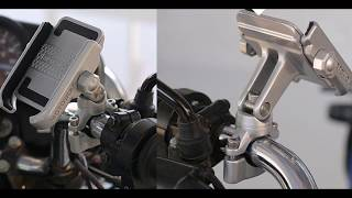 10 Держатель для телефона на мотоцикл с Алиэкспресс AliExpress Motorcycle phone holder Крутые Вещи