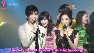 [AA VIETSUB] [090306] SNSD - Gee 8th win @ KBS2TV Music Bank