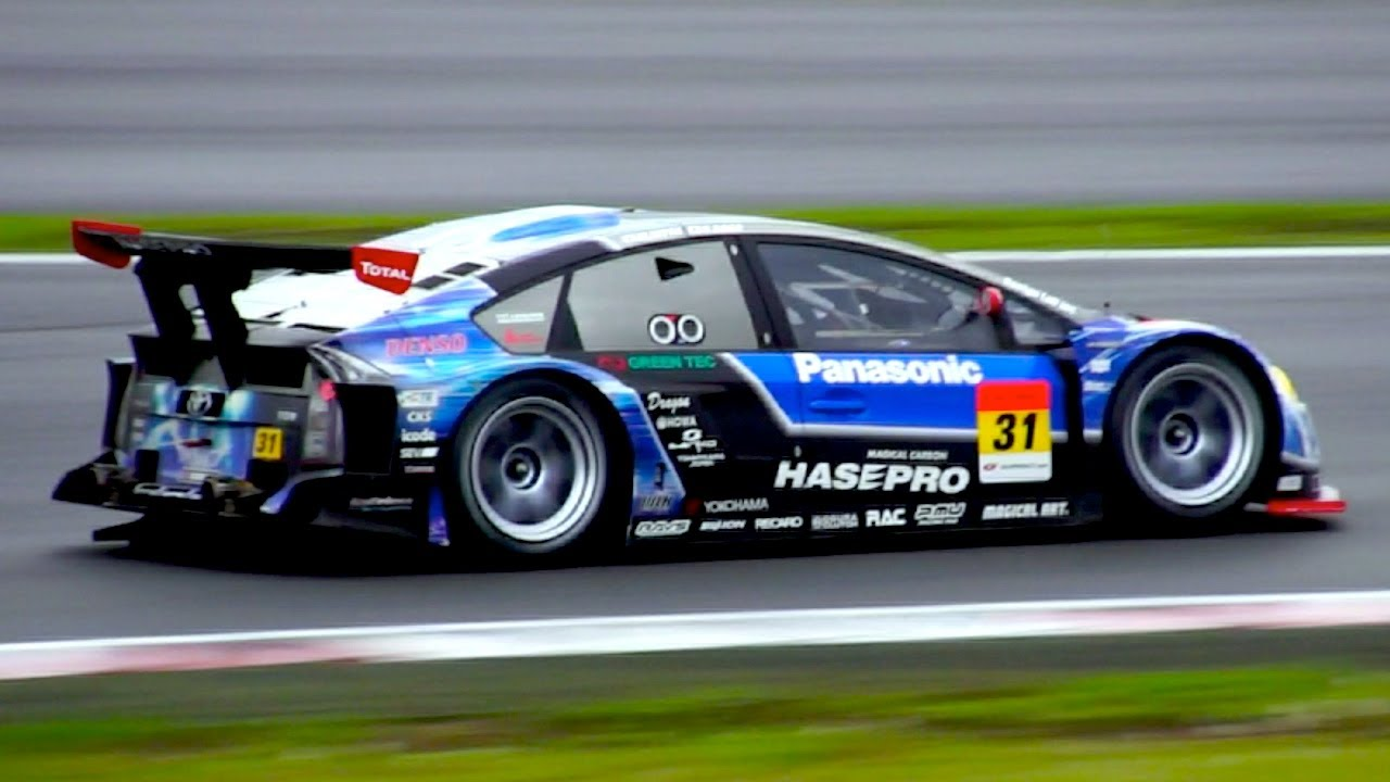 Toyota PRIUS Race (Super GT) - YouTube