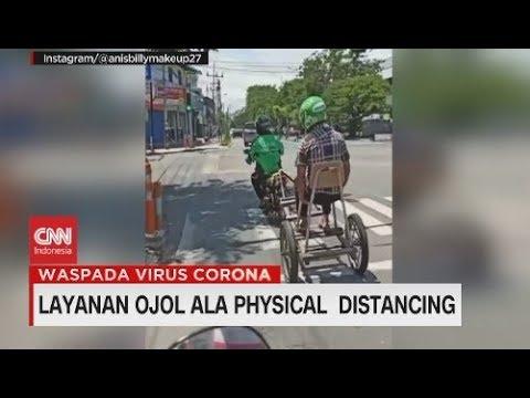 Layanan Ojol Ala Physical Distancing