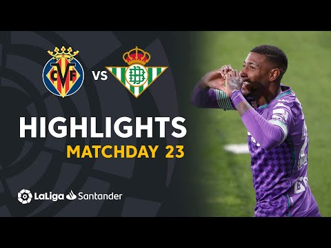 Villarreal Betis Goals And Highlights