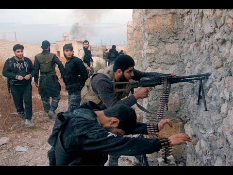 Free Syrian Army Rebels Engage In Battle As Response For The Siege In Qalamoun Syria