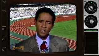 1988 - NBC - Bryant Gumbal & Tom Brokaw Talk Security during Opening Ceremonies