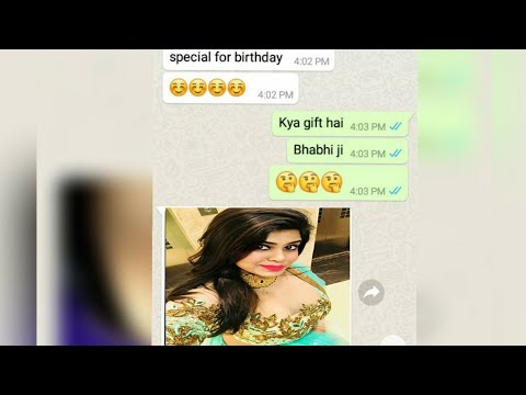 Bhabhi Ko Birthday Masti K Lie Mnaya Aur Maze Lie. Full Chat.