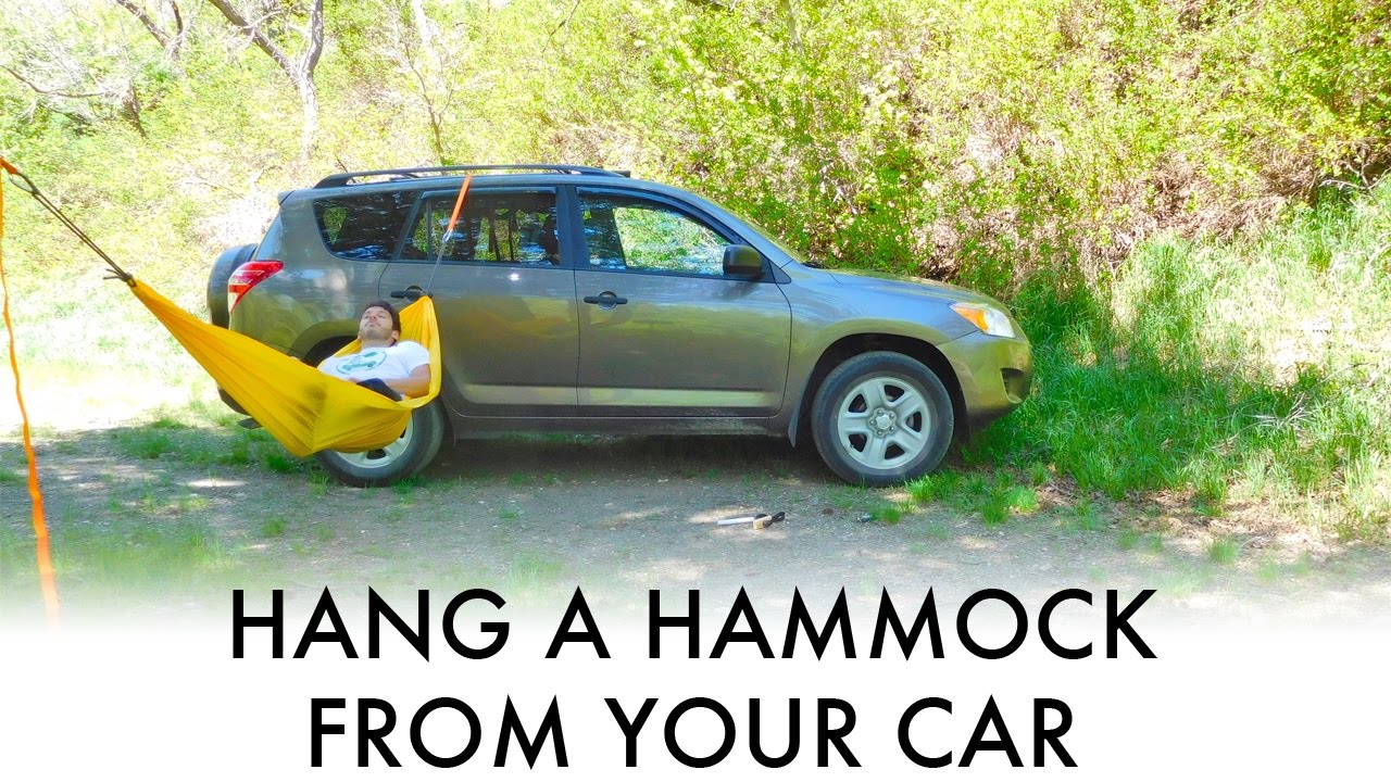 how to hang a hammock from your car suv van or truck  great for car camping  u0026 vandwelling  how to hang a hammock from your car suv van or truck  great for      rh   youtube