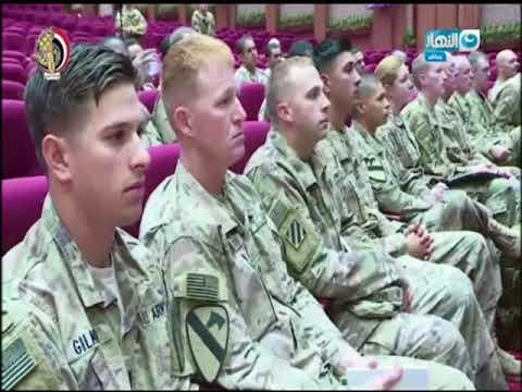 أخر النهار - مناورات النجم الساطع مابين الجيش المصري والجيش الأمريكي بقاعدة محمد نجيب الجديدة