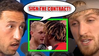 IS KSI SCARED TO FIGHT JAKE PAUL? (UPDATE)