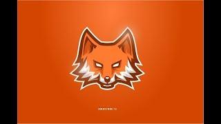 Speed Art Drawing : Animal E Sport / Sport Mascot logo design - The Wild Fox