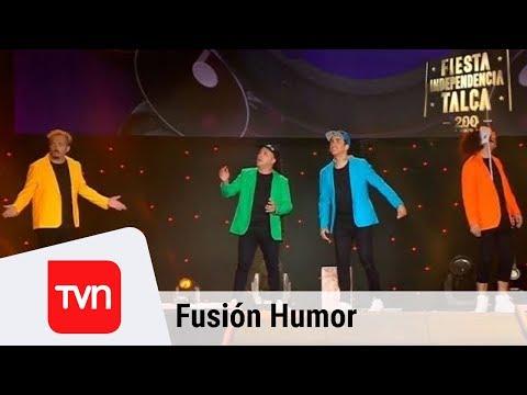 Así fue la exitosa rutina de Fusión Humor   Fiesta de la independencia de Talca 2018