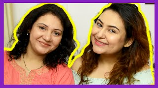 Meet My SISTER! Wearable RAKHI makeup! {Delhi fashion blogger}