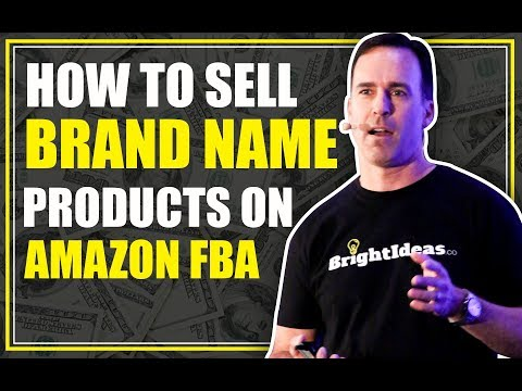 How To Sell Brand Name Products on Amazon (Legally)