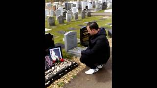 Me at Amy Winehouse grave