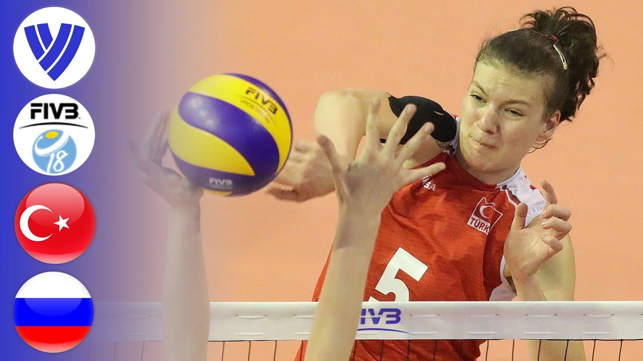 TUR vs. RUS - Full Bronze Medal Match   Women's Volleyball U18 World Championship 2017