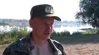 Уборка берега Припяти