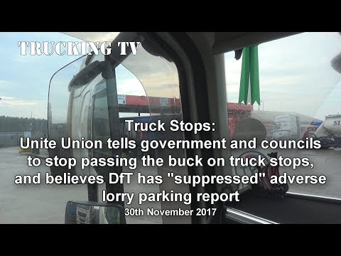 Unite the Union calls for truck stop action; 30 Nov 2017