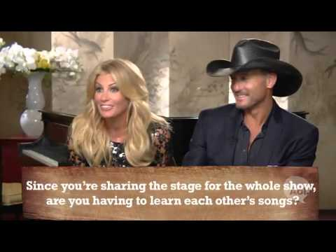 Tim McGraw & Faith Hill Interview