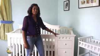 Babeelicious Vlog Episode 5 - How A Convertible Crib Works