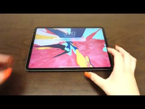 IQ Shield - Apple iPad Pro 11 in./12.9 in. 2018 Screen Protector Installation Video