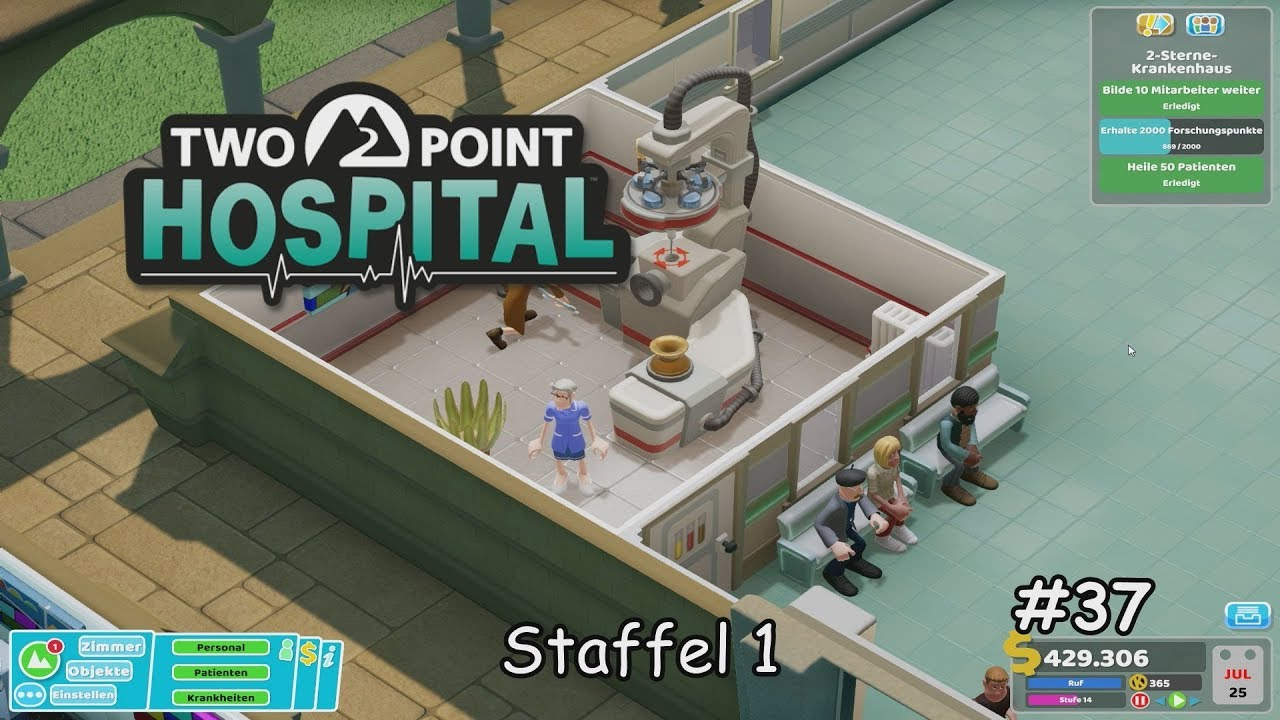 Two Point Hospital | [S1|37] | Notfall "|1280|720|?|b003c7a7f8161296c374d5817b08b829|False|NSFW|0.4401715397834778