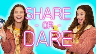 Hayley LeBlanc Shares What's In Her iPhone | SHARE OR DARE