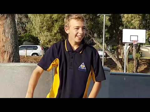 A Causal Day At Wanneroo Skatepark pluss clips