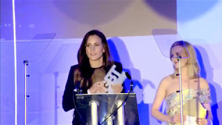 Rose and Rosie present Shannon Beveridge Award 2017