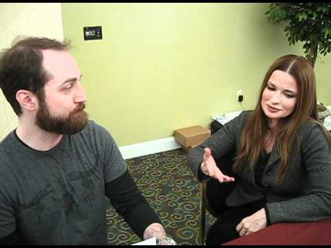 Lisa Marie  Interview - Ed Wood - Mars Attacks -  Lords of Salem - Metal Rules! TV