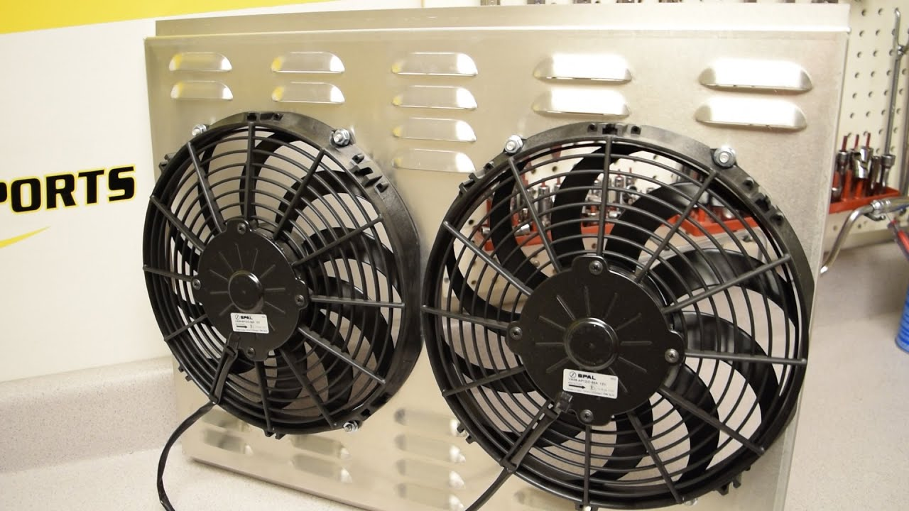 Cooling System Electric Radiator Fan Selection