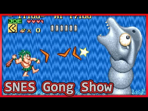 Let's Play: SNES Gong Show - Joe & Mac, mostly!
