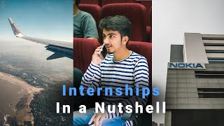4 INTERNSHIPS during 4 Years at IIT \u0026 How YOU can Apply