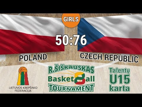 R. Šiškauskas Tournament 2017: Poland vs Czech Republic (Girls)
