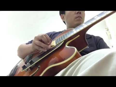 Jazz Chord Melody Guitar Bye Bye Blackbird Youtube