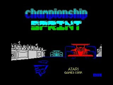 Championship Sprint Review for the Sinclair ZX Spectrum by John Gage