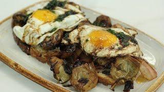 Robinfood / Alcachofas con huevos [recetas exprés]