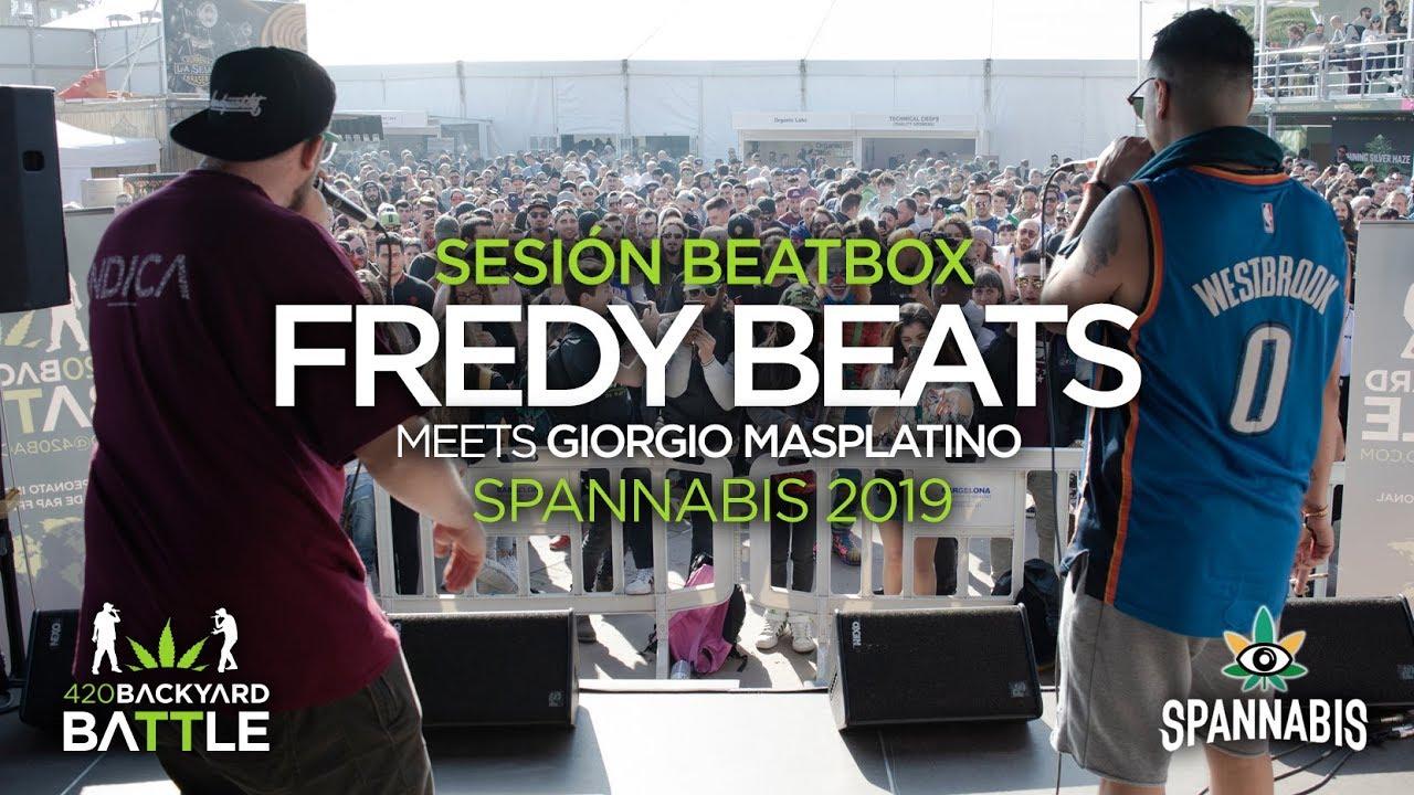 Abosas fredy beats. sesión beatbox spannabis. 420 backyard battle 2019