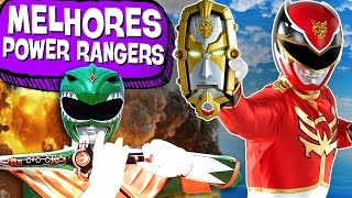 8 SAGAS DE POWER RANGERS MAIS INSANAS!